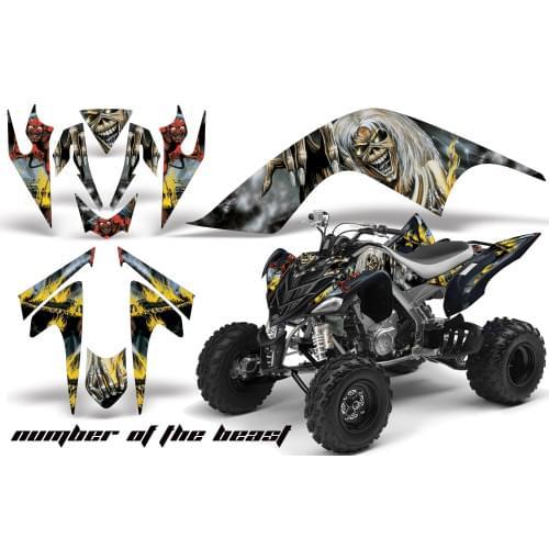 Графика для Yamaha Raptor 700 ( Number of the Beast)