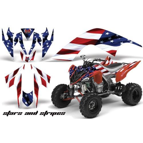 Графика для Yamaha Raptor 700 (Star and Stripes)