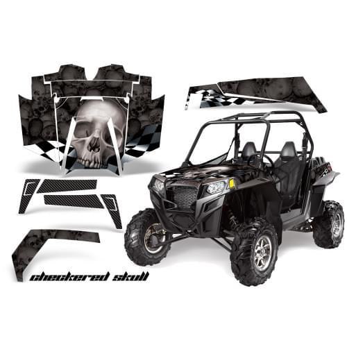 Комплект графики AMR Racing Checkered Skull (RZR900XP)