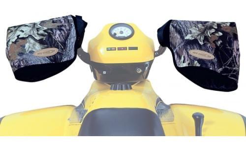 Варежки на руль Kwik Tek ATVM-B черный