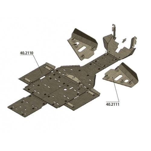 Комплект защиты днища для Commander 800/1000 (2011-)